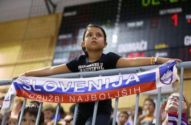 Украинские баскетболисты проиграли Словении