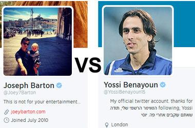Футболисты Бартон и Бенаюн поссорились из-за израильско-палестинского конфликта