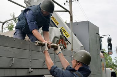 В Краматорске нашли 16 ящиков с фугасными минами – СНБО