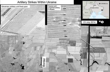 """США показали снимки, как РФ обстреливает Украину из """"Града"""" - СМИ"""