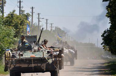 Горловка блокирована, украинские силовики продолжают наступление