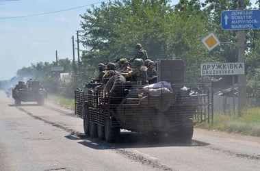 Украинская армия освободила от террористов более 60 городов и сел