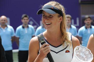 Свитолина после победы в Баку опустилась на одну строчку в рейтинге