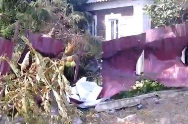 Террористы обстреляли поселок Октябрьский под Донецком