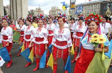 В Киеве пройдет парад вышиванок
