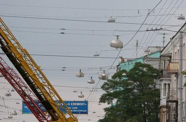 В Киеве заменят 40 тысяч уличных светильников