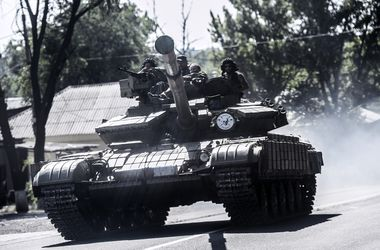 Боевики пытаются отбить позиции в районе Луганска