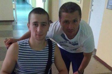 Сергей Ребров навестил в госпитале раненых солдат
