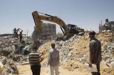 Израиль согласился на 4 часа перемирия в секторе Газа