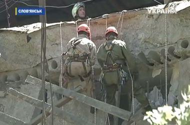 В Славянске уже почти полностью восстановили подачу воды и электричества