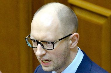 Заявление Яценюка Рада рассмотрит в открытом режиме