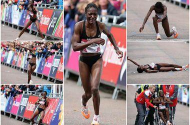 Финиш в женском марафоне чуть не обернулся трагедией