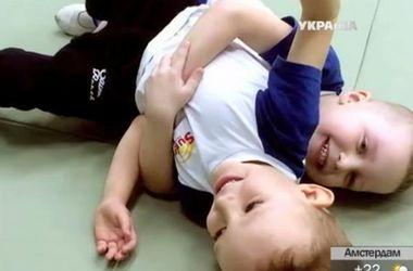 В Киеве начал работу летний лагерь для детей с ограниченными возможностями