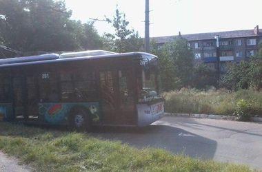 В Славянске впервые после боевых действий пустили троллейбус