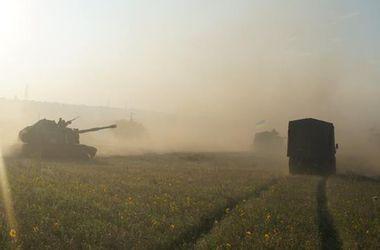 Волонтеры попали в эпицентр боя в зоне АТО