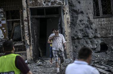 На окраине Донецка начался бой