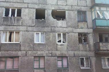 Освобожденный город Дебальцево после боев