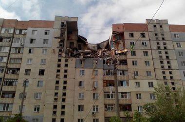 Жильцы разрушенного от взрыва дома в Николаеве остались без крыши над головой