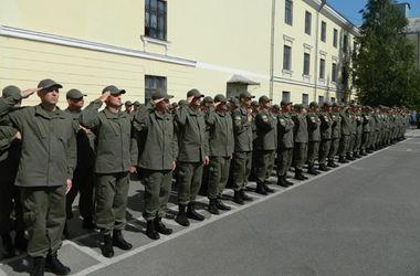 Бойцы батальона патрульной службы в Кировограде приняли Присягу на верность Украине