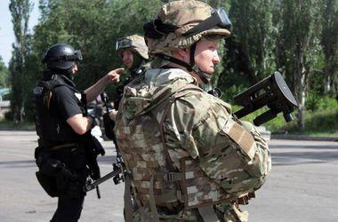 Украинские пограничники отбили атаку террористов с территории России