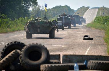 Силы АТО вошли в Шахтерск и закрепились на его окраинах