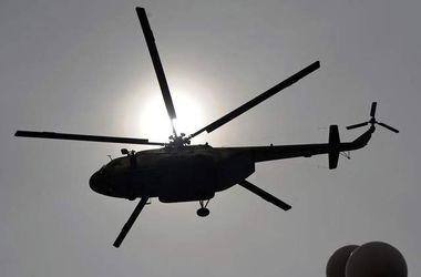 Два военных вертолета России Ми-24 залетели на 3 км вглубь Украины
