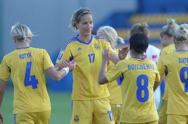 Женская сборная Украины разгромила Беларусь 8:0