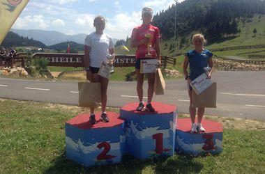Валя Семеренко выиграла соревнования в Румынии