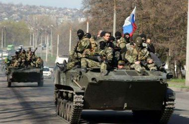 В Донецк едут 10 российских танков - АТО