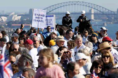 В Австралии митинговали в поддержку как Израиля, так и Палестини