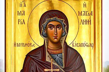 В Киев привезли икону Марии Магдалины с горы Афон