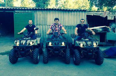Террористы Стрелкова похвастались квадроциклами за 85 тысяч грн и беспилотником