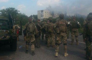 В штабе АТО не подтверждают вхождения в Донецк