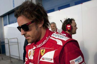 """Двукратный чемпион Формулы-1 Алонсо хочет получить за трехлетний контракт с """"Феррари"""" 105 миллионов евро"""