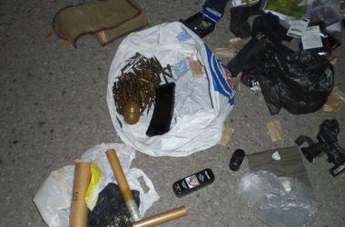 Под Днепропетровском задержали жителя Донецка с патронами и гранатой