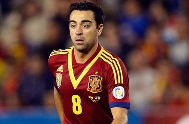 Хави попрощался со сборной Испании