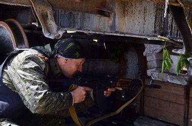 Украинские десантники вблизи Дьяково попали под перекрестный огонь
