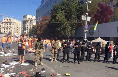 Парень бросил гранату в людей на Майдане