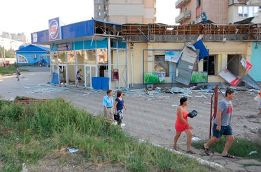 В Луганске нет света и воды, не работают банки и закончился бензин