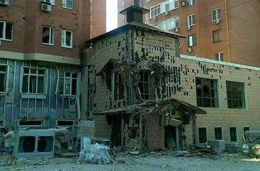 В Донецке под обстрел попала школа и ж/д станция