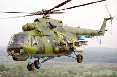 Ранены трое летчиков медицинского вертолета, который обстреляли боевики