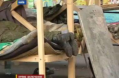 Что происходит утром на Майдане