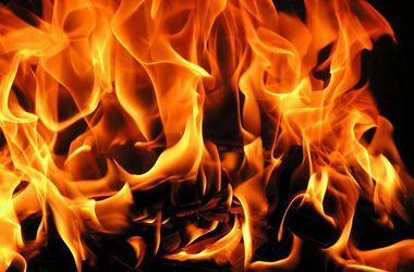 В Днепропетровской области из горящего дома вынесли человека