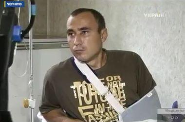 Раненый танкист: Такое ощущение, что боевики знали наш точный маршрут