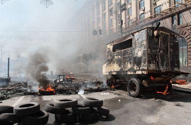 Майдановцы пообещали отодвинуть палатки и освободить проезд по Крещатику