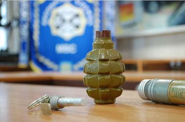 Во Львовскую область из зоны АТО прислали гранату