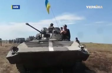 Силы АТО разорвали линию обороны боевиков