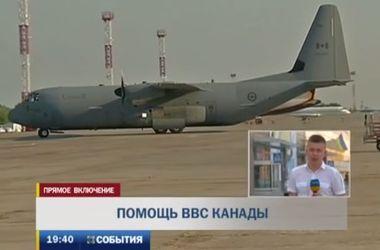 Канада направила в Украину помощь для военных