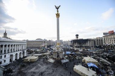 На Институтской идет поиск вещественных доказательств преступлений, совершенных на Майдане
