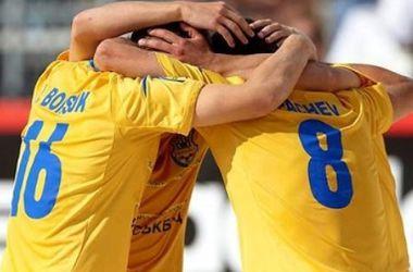 Сборная Украины по пляжному футболу обыграла Португалию